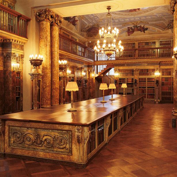 Liechtenstein GARDEN PALACE Princely Library © LIECHTENSTEIN. The Princely Collections, Vaduz–Vienna